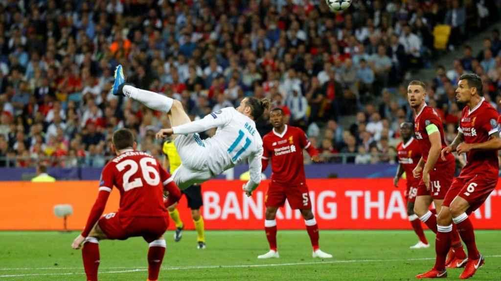 Gol de Bale en Kiev para dar la Champions al Real Madrid contra el Liverpool.