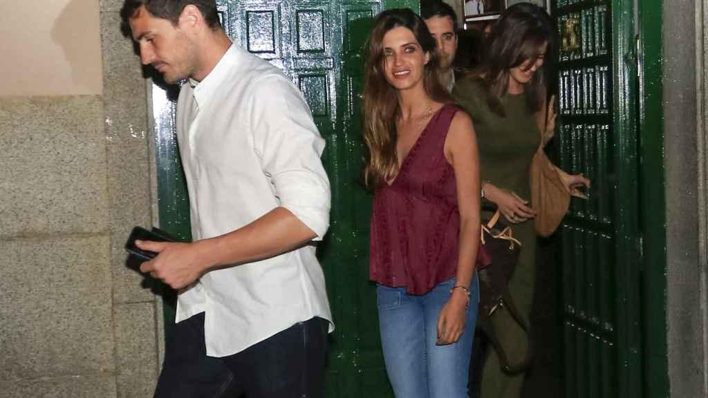 Sara Carbonero e Iker Casillas en una imagen de archivo.
