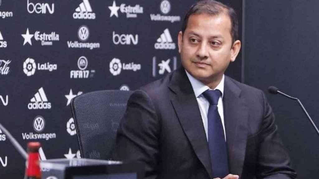 Anil Murthy, presidente del Valencia CF