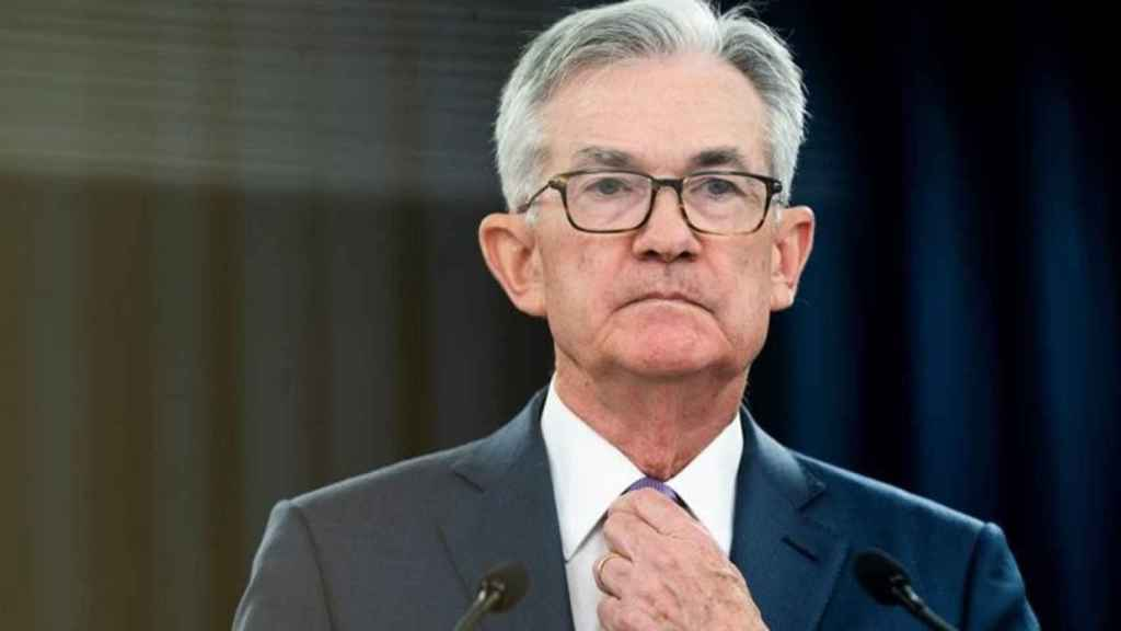 The chairman of the US Federal Reserve and Jerome Powell.