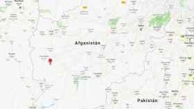 Lugar donde ha ocurrido el atentado de Afganistán.