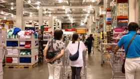 Imagen de archivo del interior de un supermercado Costco.