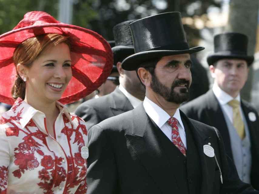 Haya de Jordania quiere divorciarse del jeque de Dubái.
