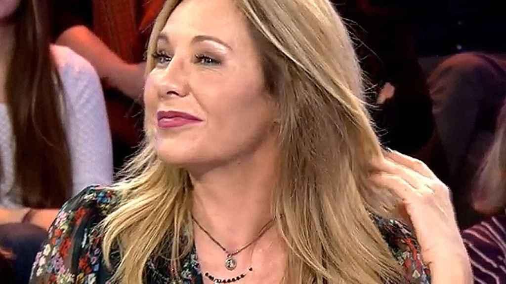 La cara de Belén Ro en 'Sábado Deluxe'.