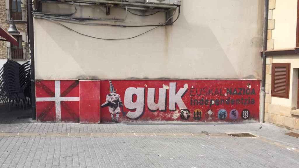 Murales independentistas en Alsasua