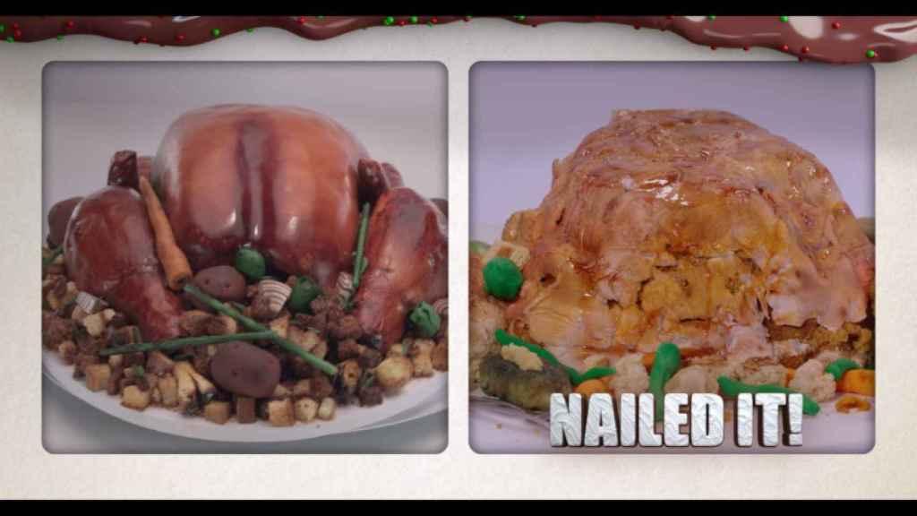 Imagen: Nailed it! Holiday 1x04