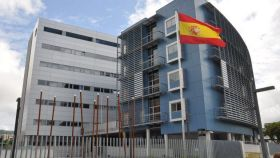 Comisaría de Policía en el Paseo de Urumea, donde también se ubica la residencia.