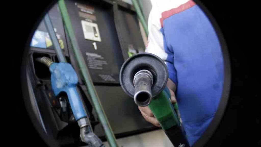 Foto de archivo sobre la gasolina.