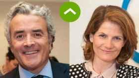 COMO LEONES: Iñaki Ereño (Sanitas) y Fuencisla Clemares (Google)