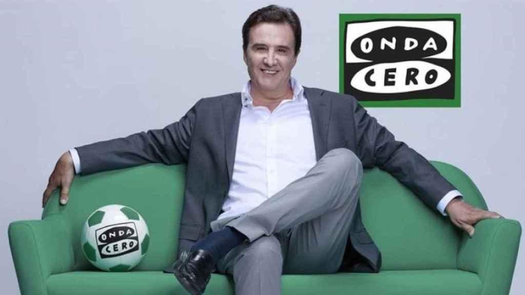 José Ramón de la Morena, presentador de 'El Transistor' en Onda Cero.