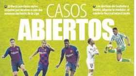 La portada del diario Mundo Deportivo (03/08/2019)
