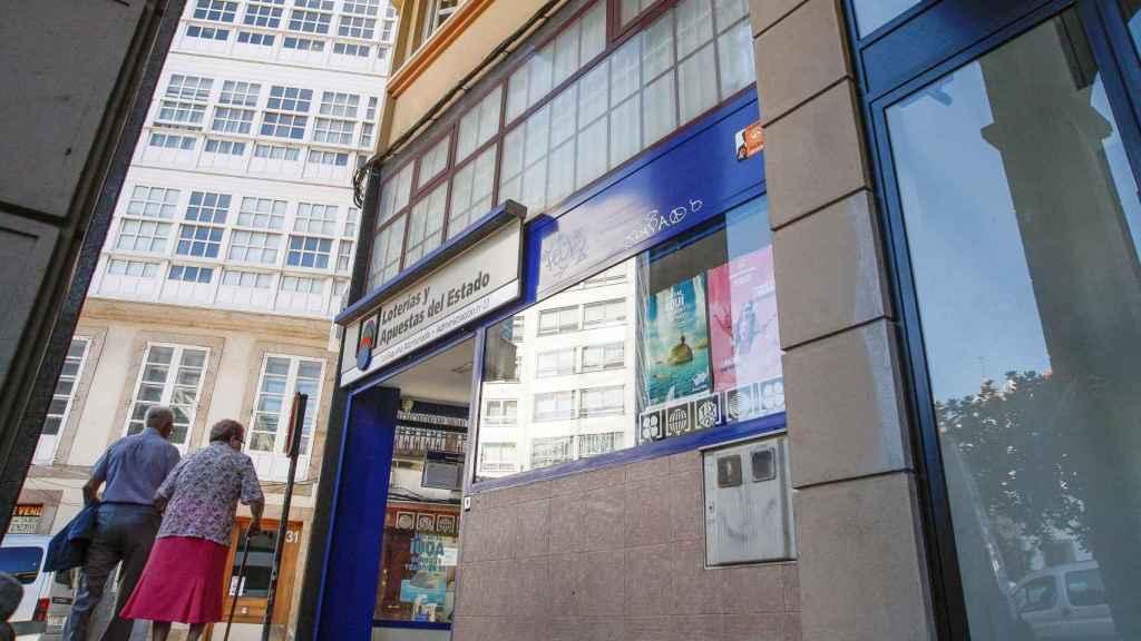 La administración en la que trabaja Manuel Reija, a unos metros de la plaza María Pita de Coruña.