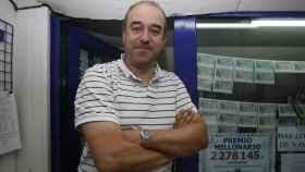 Manuel Reija, lotero que presuntamente engañó al propietario del boleto premiado de la Primitiva.
