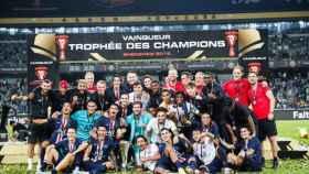 El PSG gana el Trofeo de Campeones de Francia. Foto: psg.fr