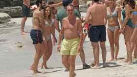 Artur Mas, de vacaciones en una escapada a Formentera este mes de julio.