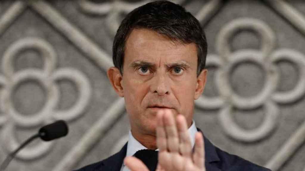 Manuel Valls, concejal en el Ayuntamiento de Barcelona y ex primer ministro de Francia, en una imagen de archivo.