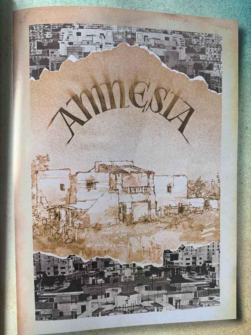 El cartel original de la discoteca Amnesia