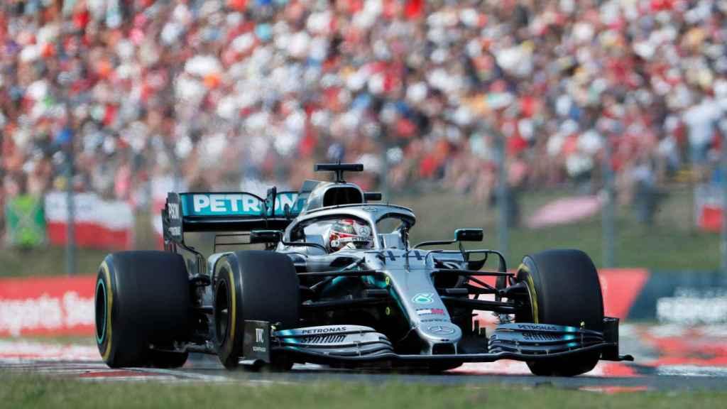 Lewis Hamilton, en el Gran Premio de Hungría del Mundial de Fórmula 1