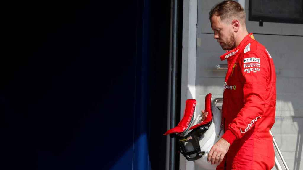 Sebastian Vettel, en el Gran Premio de Hungría del Mundial de Fórmula 1