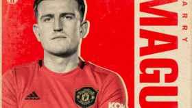 Maguire ficha por el United