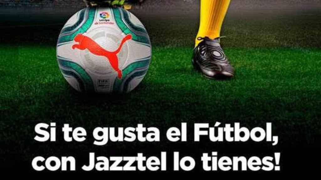 Orange lleva la guerra del fútbol al bajo coste y ofrecerá La Liga por un euro con Jazztel