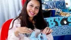 Karen, embarazada de 9 meses y asesinada por su pareja