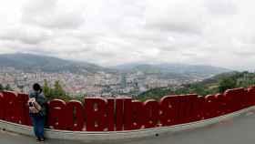 Una fotografía de los cielos nublados en el País Vasco.