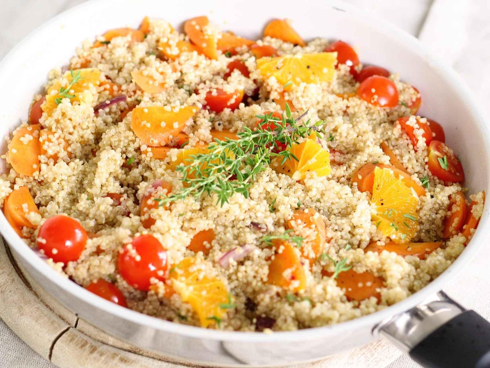 10 Retete cu Quinoa - sanatoase si delicioase!   Gourmandelle