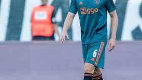 Van de Beek, en un partido del Ajax de Ámsterdam. Foto: Instagram (@afcajax)