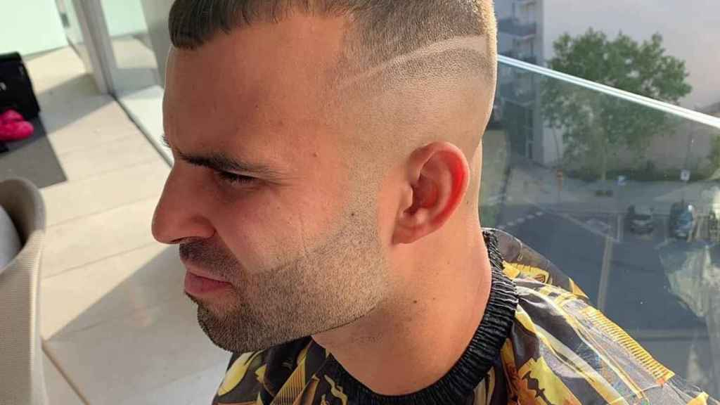 Nuevo 'look' de Jesé. Foto: Instagram (@brendan_lecoiffeur)