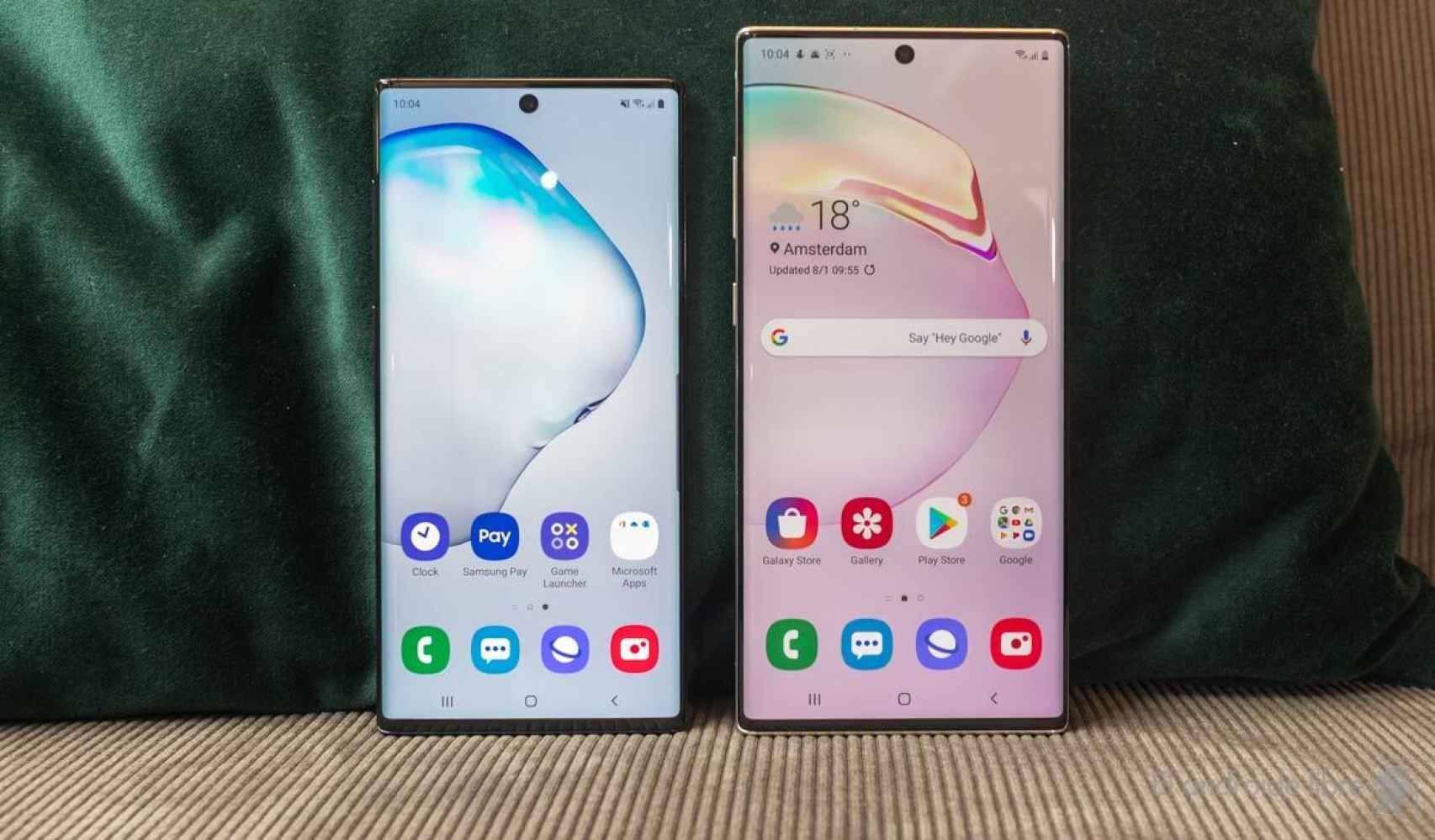 Samsung Galaxy Note10 y Note10+