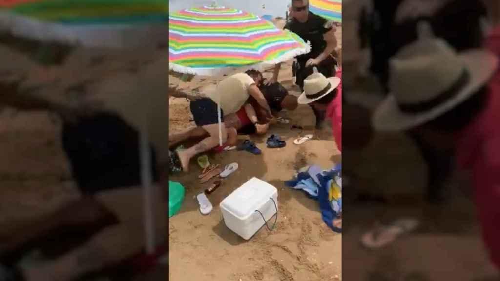 Los hechos han tneido lugar en la playa de Punta Umbría.