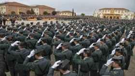 Promoción de la Guardia Civil.
