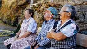 Señores retratados en la provincia de Ourense
