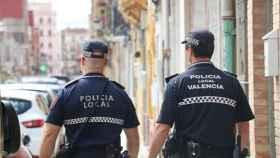 Agentes de la Policía Local de Valencia