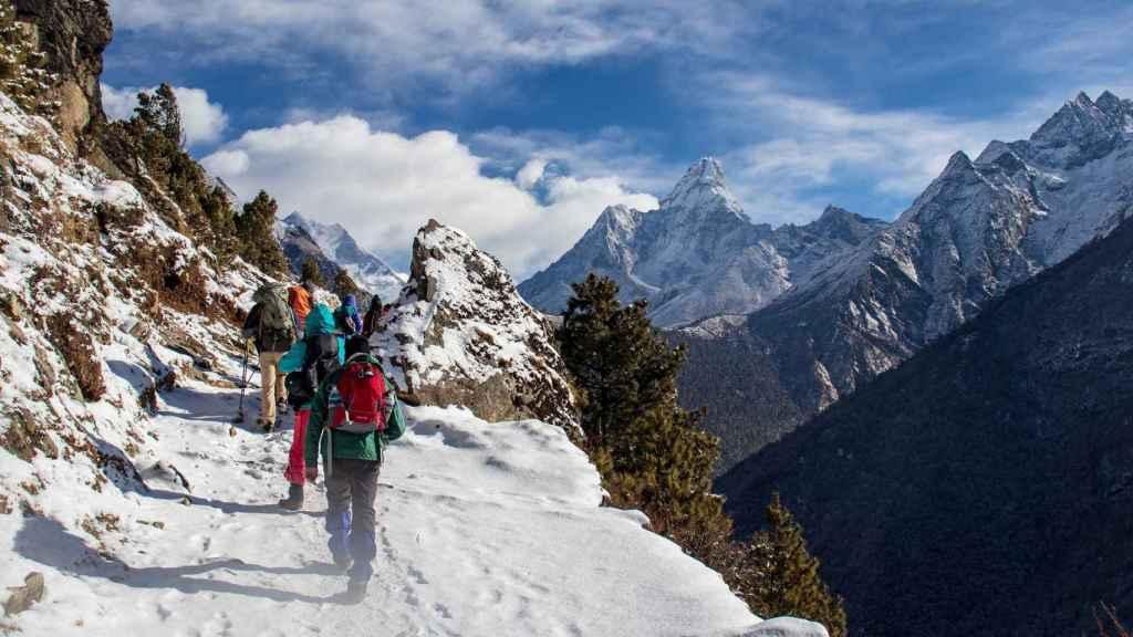 Trekking por el Himalaya, todo un reto.