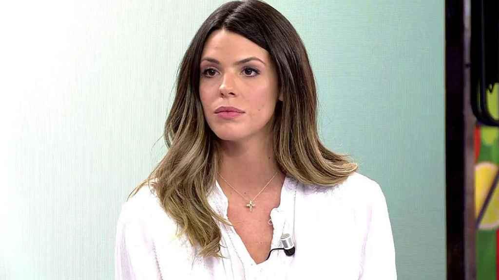 Laura Matamoros en 'Sálvame'.