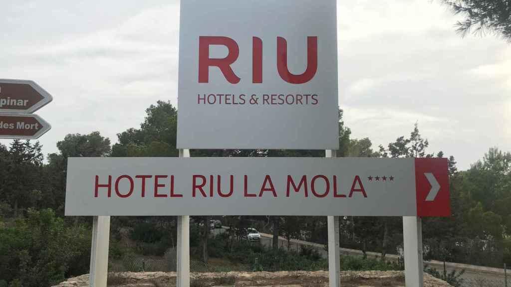 Hotel RIU La Mola, en Formentera, lugar donde Sofía, una de las víctimas, trabajaba desde hacía una semana.