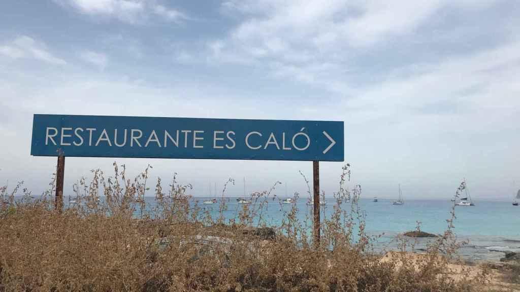 Restaurante Es Caló, local donde trabajaba el detenido hasta el día del accidente.