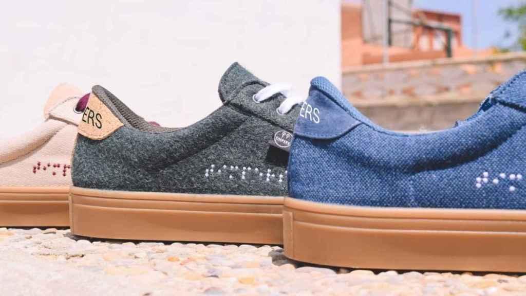 Algunas zapatillas de la firma Timpers.