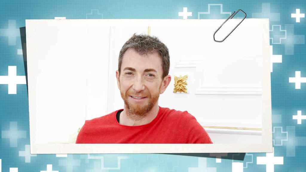Pablo Motos en un montaje de JALEOS.