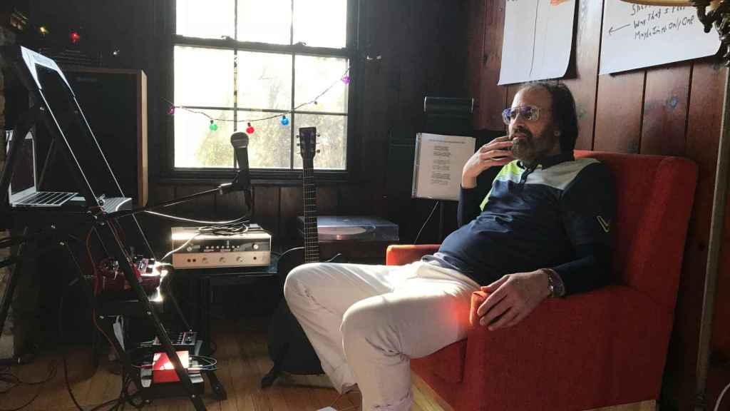 El cantante David Berman, en una foto de archivo.