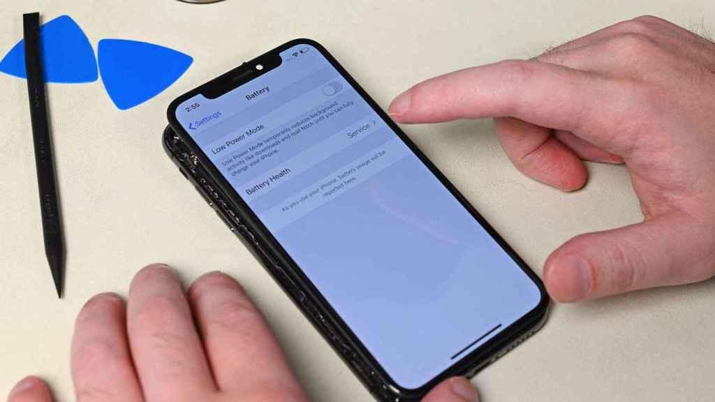 Cambio de batería del iPhone