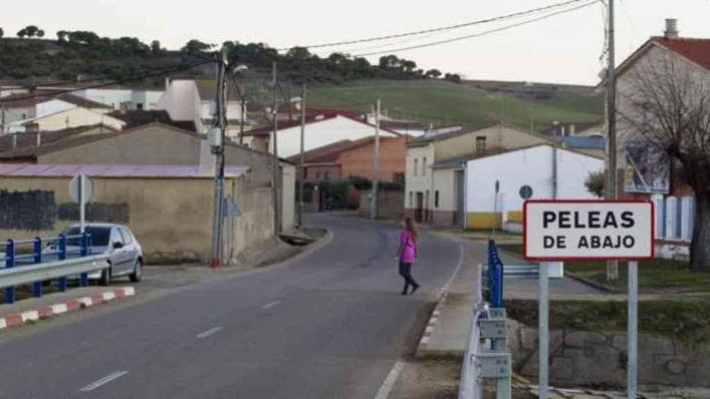 El pueblo de Peleas de Abajo (Zamora).
