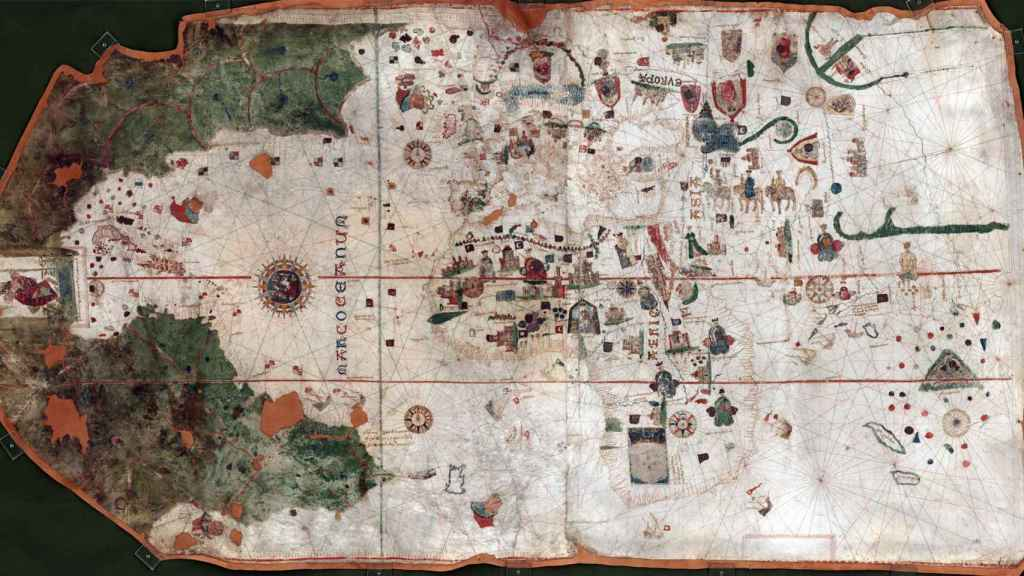 Carta naútica de Juan de La Cosa.