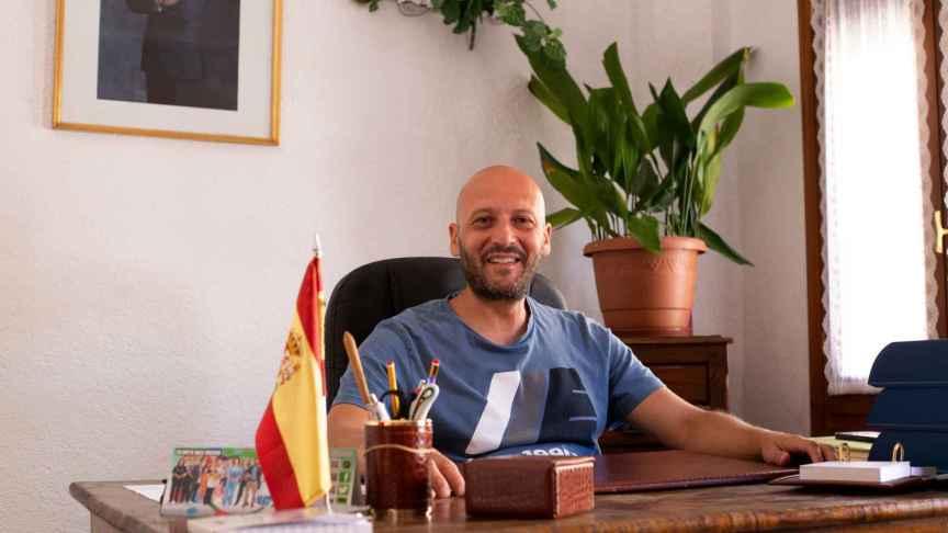 Matías Jiménez (PSOE), el alcalde de Poyales del Hoyo.