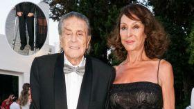 Jaime Ostos y su mujer María Ángeles Grajal en montaje JALEOS.