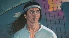 Retrato de Enrique de Malaca.