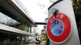 La sede de la UEFA en Nyon, Suiza