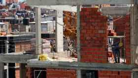 Un edificio en construcción. Imagen de recurso.